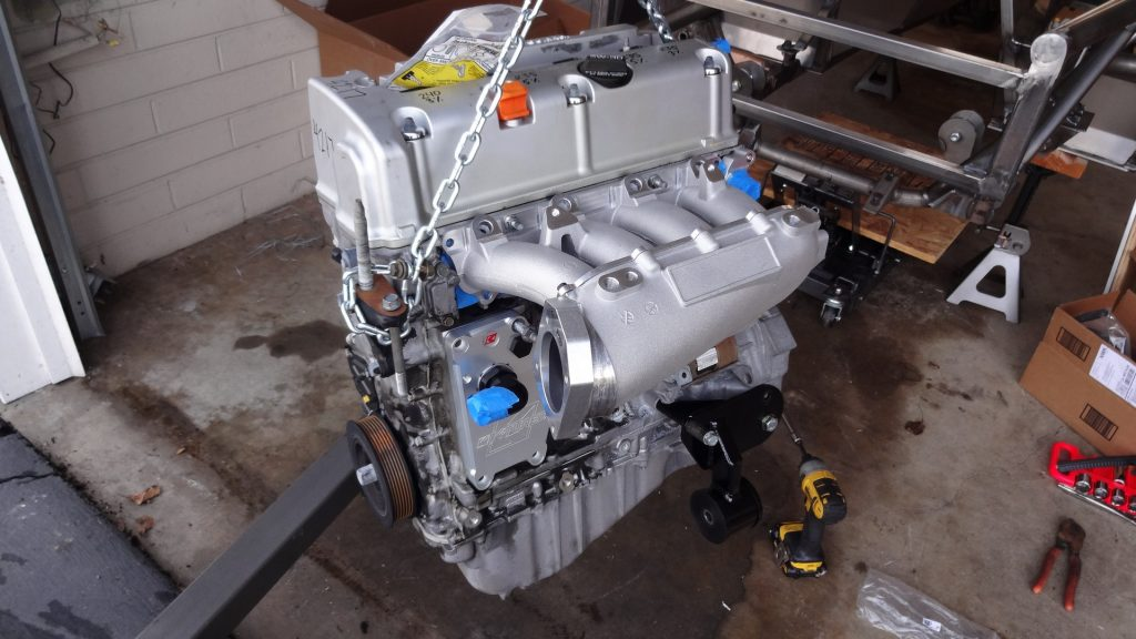 Custom Made Supercharger Bracket - Tenhulzen Automotive